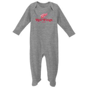 Baby Reebok Detroit Red Wings Thermal Sleep & Play
