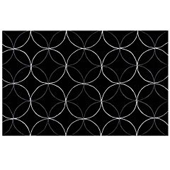 Surya Cosmopolitan Lattice Circle Rug