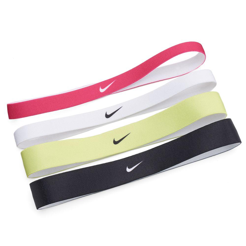 Nike 4-pk. Neons Skinny & Thick Sport Headband Set
