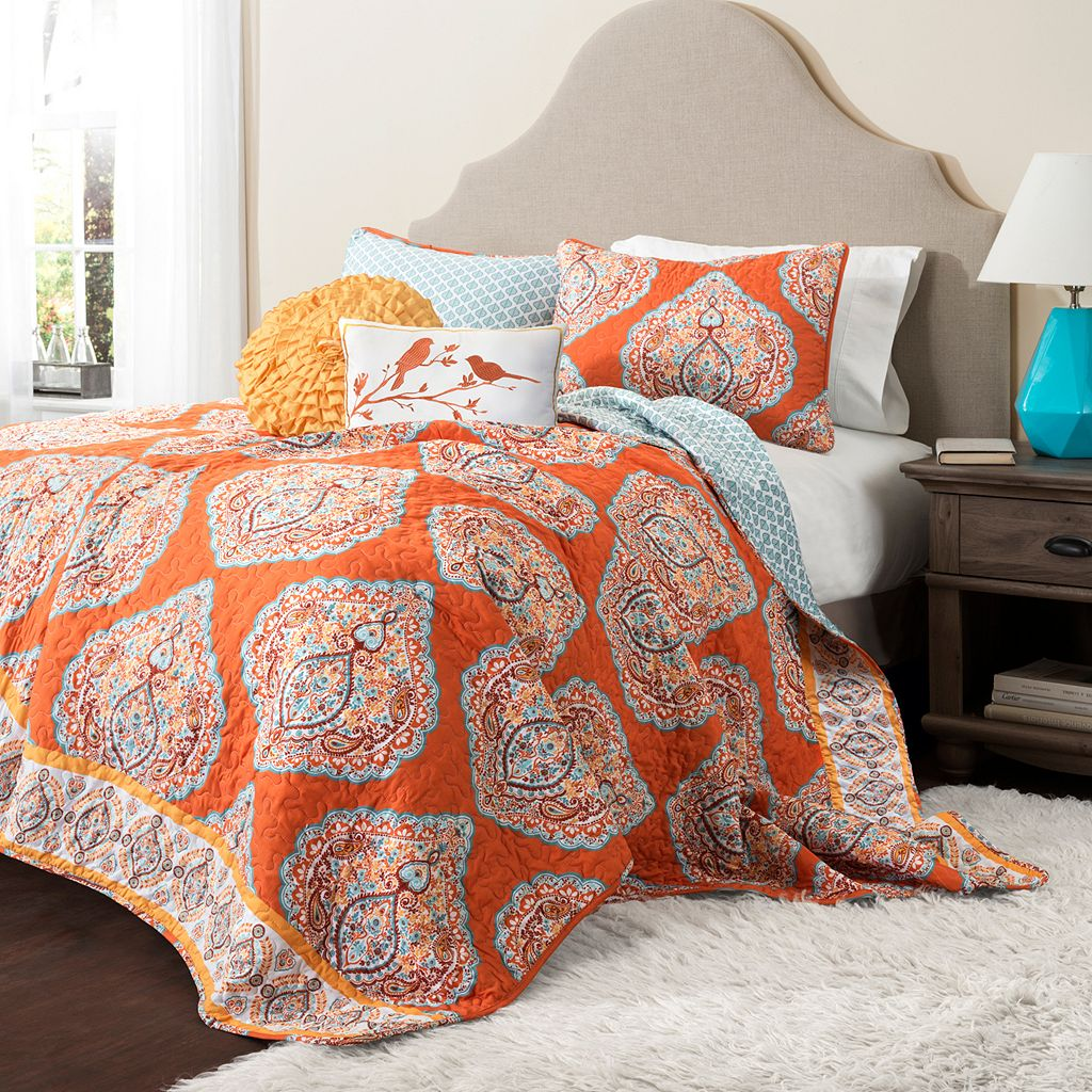 Lush Decor Harley 3-pc. Reversible Quilt Set