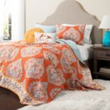 Lush Decor Harley 3 pc Reversible Quilt Set