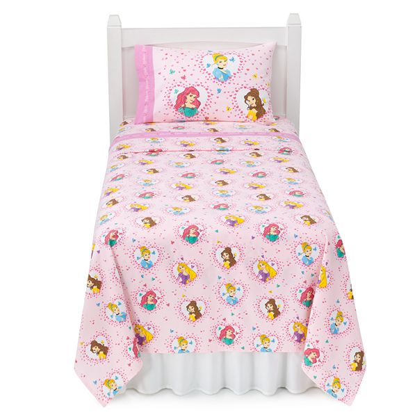 Disney Princess Flannel Sheets By Jumping Beans