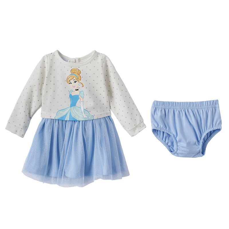 Disney's Cinderella Tulle Dress - Baby Girl