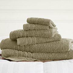 Spa Collection 6-pc. Solid Bath Towel Set