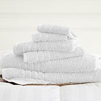 Spa Collection 6-pc. Solid Bath Towel Set