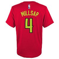 Boys 8-20 adidas Atlanta Hawks Paul Millsap Player Tee