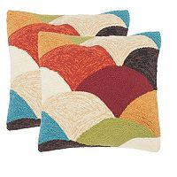 Safavieh 2-piece Rainbow Mountain Outdoor Throw Pillow Set