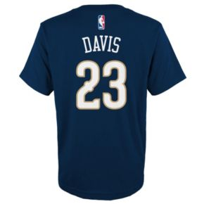 Boys 8-20 adidas New Orleans Pelicans Anthony Davis Player Tee