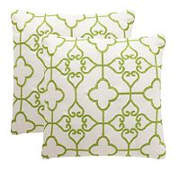 Safavieh 2 pc Nadia Outdoor Throw Pillow Set