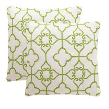 Safavieh 2-piece Nadia Outdoor Throw Pillow Set