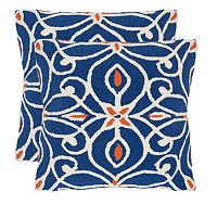 Safavieh 2 pc Algarbe Outdoor Throw Pillow Set