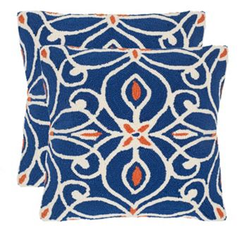 Safavieh 2-piece Algarbe Outdoor Throw Pillow Set