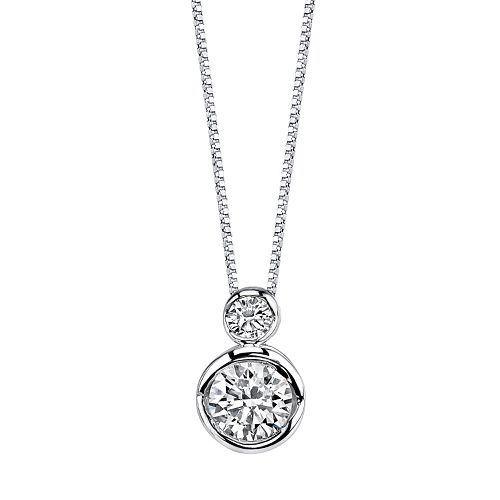 Sirena Collection 14k White Gold 1/4 Carat T.W. Certified