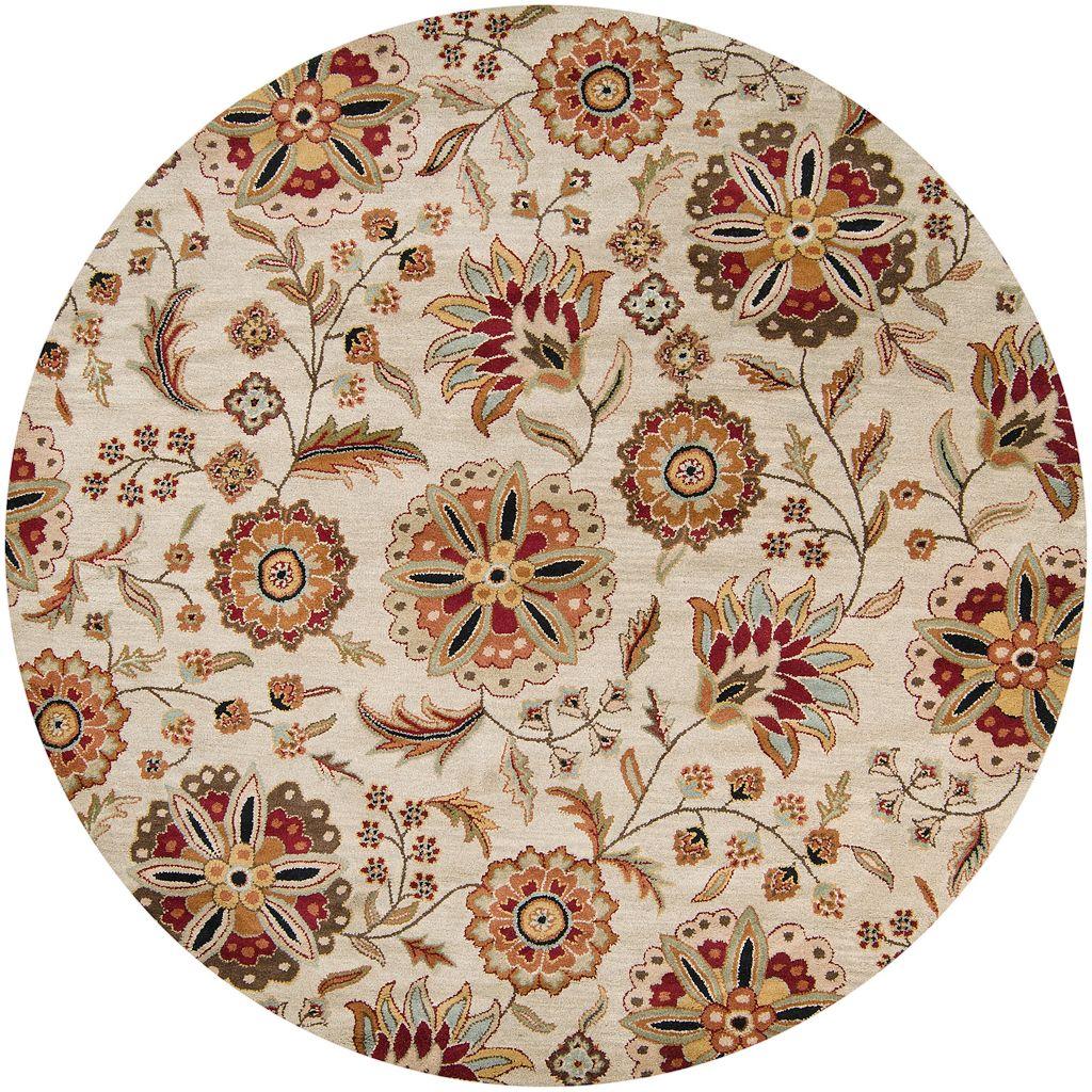 Surya Athena Floral Wool Rug