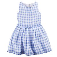 Girls 4-8 Carter's Gingham Plaid Dress