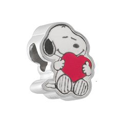 Peanuts Sterling Silver Snoopy Bead