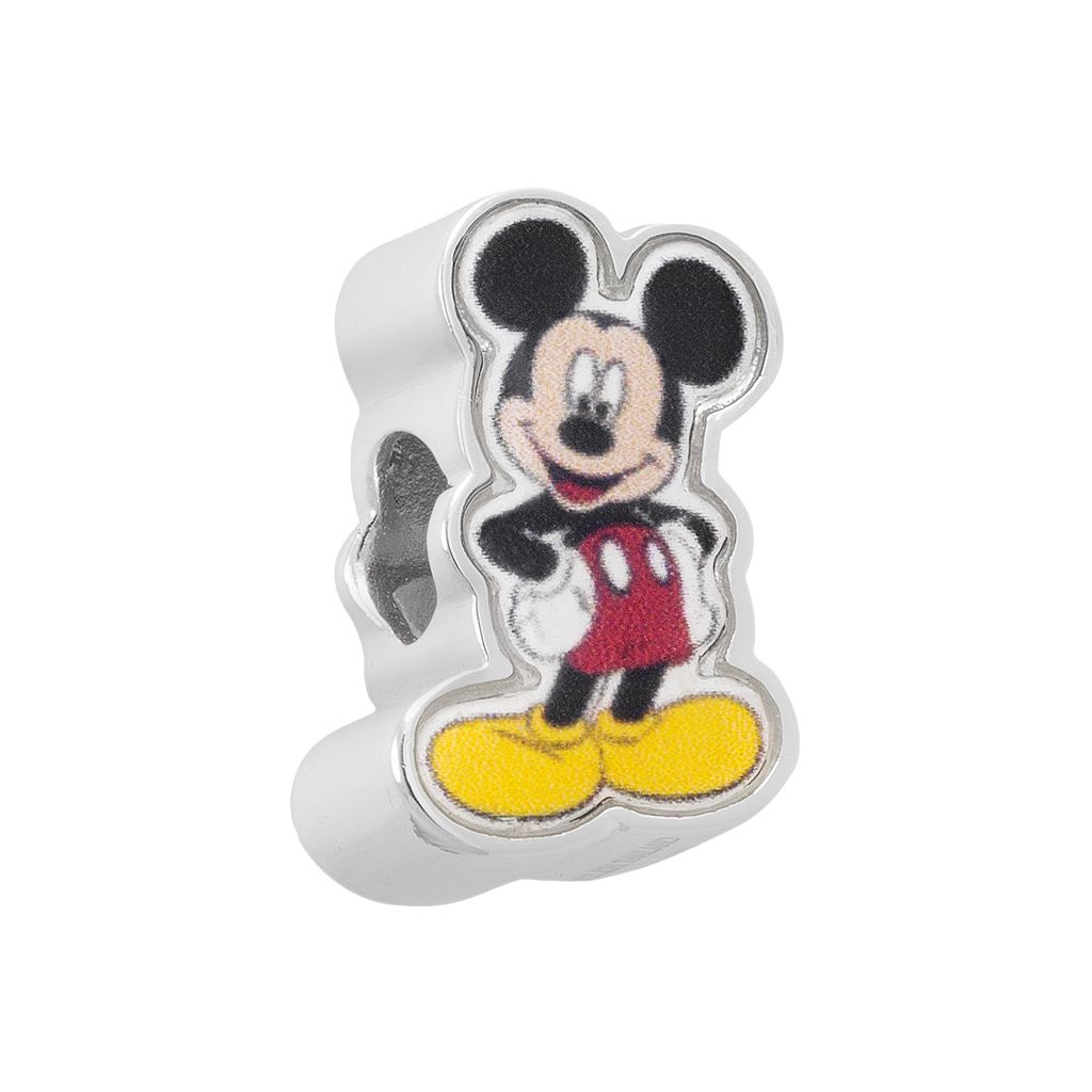 Disney's Mickey Mouse Sterling Silver Bead