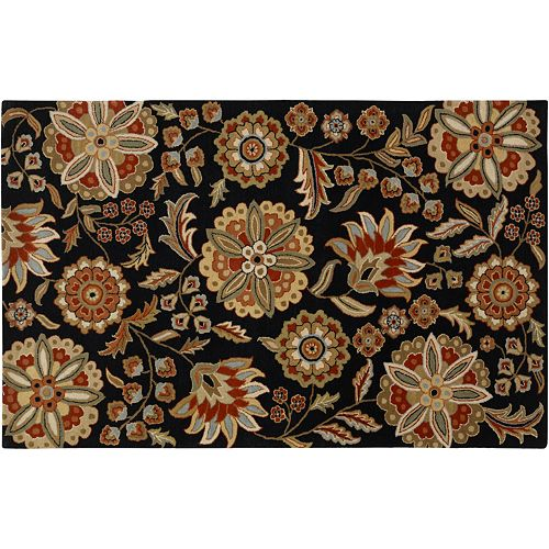 Decor 140 Athena Floral Wool Rug