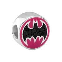 DC Comics Sterling Silver Batman Bead