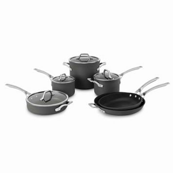 Calphalon Signature 10-pc. Hard-Anodized Nonstick Aluminum Cookware Set