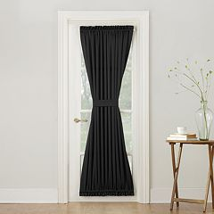 Sun Zero 1-Panel Gramercy Room Darkening Door Curtain