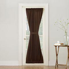 Sun Zero 1-Panel Gramercy Room Darkening Door Curtain