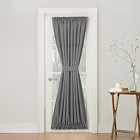 Sun Zero Gramercy Room Darkening Door Curtain
