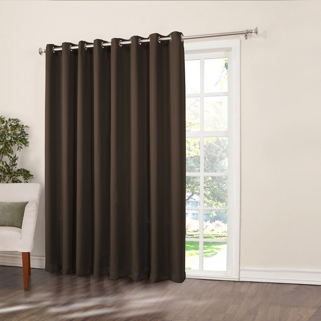 Home Classics® Ethan Blackout Patio Door Curtain - 108'' x 84''