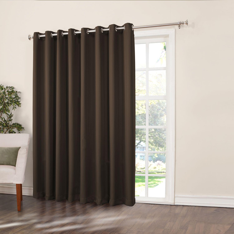Home Classics® Ethan Blackout Patio Door Curtain   108u0027u0027 X 84u0027u0027