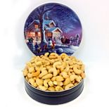 Fifth Avenue Gourmet 16-Ounce Jumbo Cashews Holiday Tin