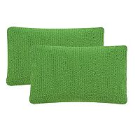Safavieh 2-piece Soleil Solid Outdoor Throw Pillow Set
