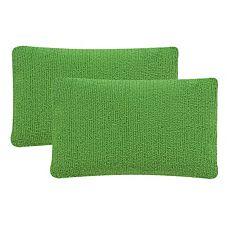 Safavieh 2 pc Soleil Solid Outdoor Throw Pillow Set