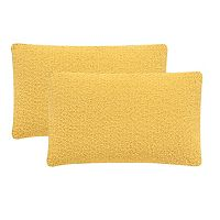 Safavieh 2-piece Soleil Solid Outdoor Throw Pillow Set