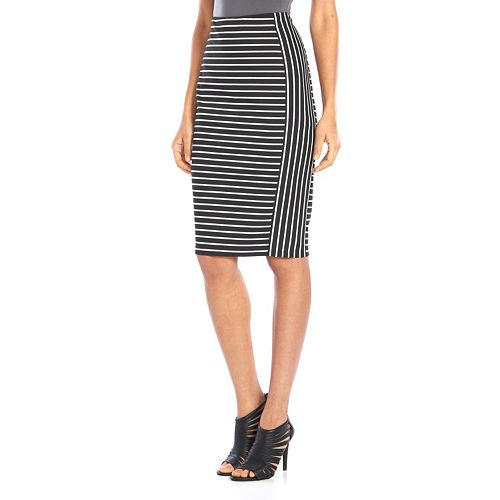 Apt. 9® Midi Ponte Pencil Skirt - Women's
