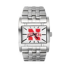 Rockwell Nebraska Cornhuskers Apostle Stainless Steel Watch - Men