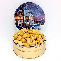 Fifth Avenue Gourmet 8-Ounce Jumbo Cashews Holiday Tin