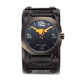 Rockwell Texas Longhorns Assassin Leather Watch - Men