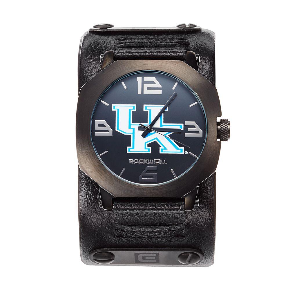 Rockwell Kentucky Wildcats Assassin Leather Watch - Men
