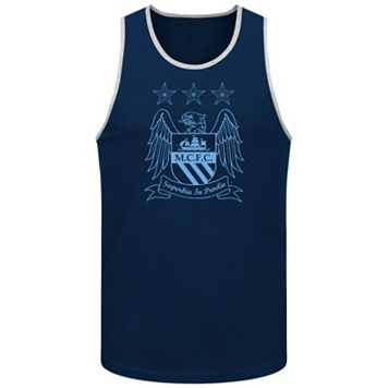 Men's Premier League Manchester City FC Crest Tank Top