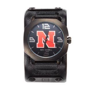 Rockwell Nebraska Cornhuskers Assassin Leather Watch - Men