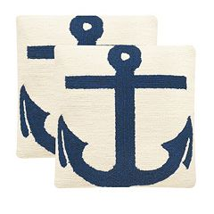 Safavieh 2 pc Ahoy Outdoor Throw Pillow Set