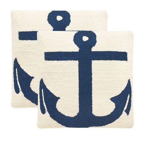 Safavieh 2-piece Ahoy Outdoor Throw Pillow Set