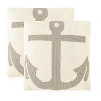 Safavieh 2-piece Ahoy Outdoor Throw Pillow Set