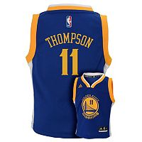 Boys 8-20 adidas Golden State Warriors Klay Thompson NBA Replica Jersey