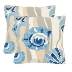 Safavieh 2-piece Beyond the Sea Outdoor Throw Pillow Set