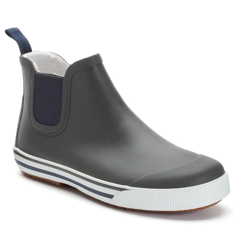 Strala Men's Chelsea Rain Boots