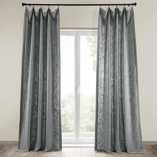 EFF Heavyweight Solid Window Curtain