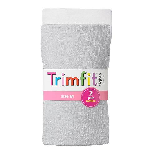 f126c3b78be57 Trimfit 2-pk. Sparkly Tights - Girls 4-10