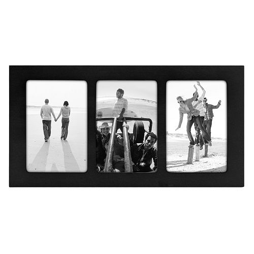 Malden Trio 3-Opening 4'' x 6'' Frame