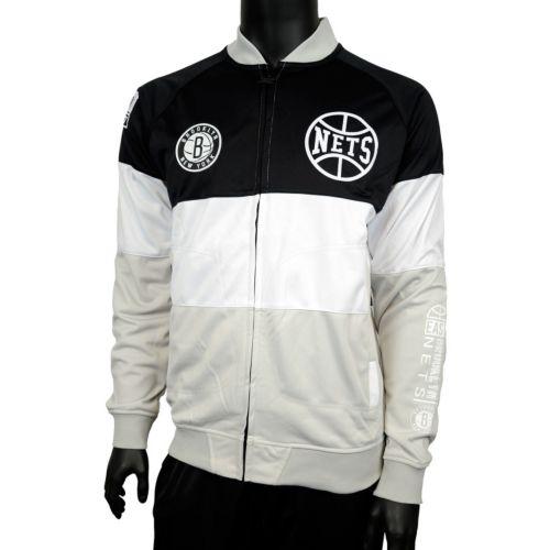 Men's Zipway Brooklyn Nets Stadium Sport Jacket